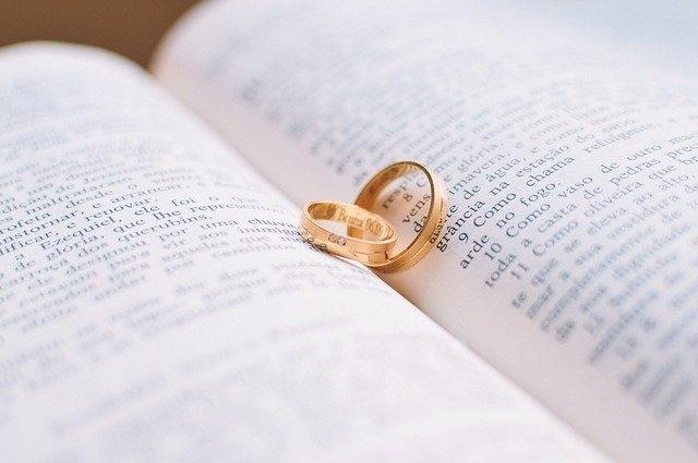 poročni prstani biblija